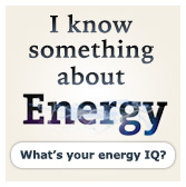 I know something about energy.